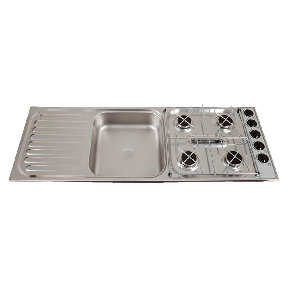 Thetford Spinflo Combo Unit 4 Burner Grill Sink S Steel