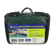 COAST Multi-Purpose Floor Mat Green 250cm x 600cm C/W Carry Bag. - EACH