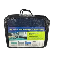 COAST Multi-Purpose Floor Mat Blue 250cm x 300cm C/W Carry Bag.