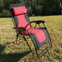CTC RECLINERS RED BACK LAGUNA COLLECTION WITH TRAY. 48967