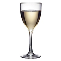 POLYSAFE POLYCARBONATE GLASS VINO BLANCO GOBLET 250ML. PS-6