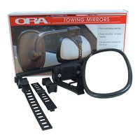 ORA ITALIAN CLIP-ON TOWING MIRRORS (SET OF 2). 2100 - EA