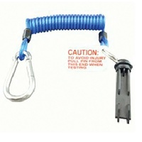 BREAKAWAY COIL CABLE W/H PIN AND RELEASE CLIP. BS0165W - EA