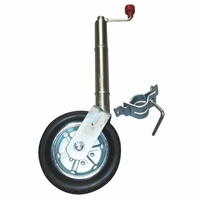 "ALKO 10"" SOLID TYRE JOCKEY WHEEL C/W CLAMP. 623650 - EA"