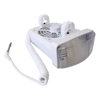 Fan+Light Combo 12V WHT