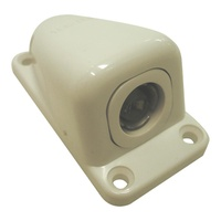 CLIPSAL 75 OHM COAXIAL CABLE SURFACE SOCKET. 30TV75S - EA