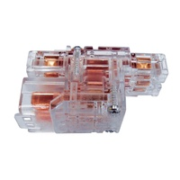CMS 1 IN 2 OUT DOUBLE ADAPTER CLEAR. J3DCL