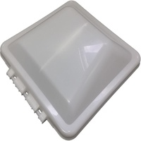 VENTLINE REPLACEMENT WHITE LID ONLY (TO SUIT NEW STYLE PLASTIC CLIP CONNECTION). 0503090 - EA