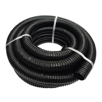 BLACK WASTE HOSE 10M ROLL 32MM ID. 36M32X10CTC