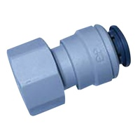 JG FEMALE PLASTIC CONNECTOR FOR 12MMx1/2FBSP. CM451214FS - EA