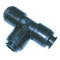 JG PLASTIC 12MM TEE CONNECTOR. PM0212E - EA