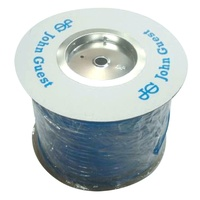 JG BLUE 12MM x 100M ROLL OF TUBING SOLD PER M. PE12100B - MTR