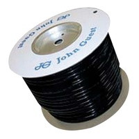 JG BLACK 12MM x 100M ROLL OF TUBING SOLD PER M. PE12100E - MTR