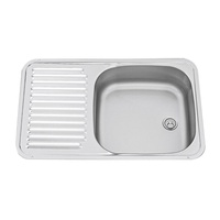 SMEV S/S SINK H125MMxW590MMxD370MM. T_9102300054 - EA
