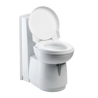 THETFORD C263 CHINA BOWL TOILET W/H WHITE DOOR. T93365SP/2680584 - EA