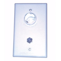 WINEGARD WHITE 2ND TV WALL PLATE ONLY. TG-0741