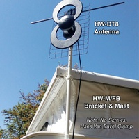 HAPPY DIGITAL-8 MARK 3 ANTENNA. HW-DT8 MARK 3