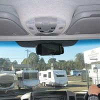 SPHERE MOTORHOME REVERSING CAMERA KIT WITH WHITE CAMERA.