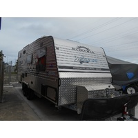 2015 - 23ft Kokoda Force X-Trail VII Family Van