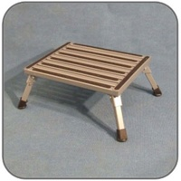 FOLDING METAL STEP - EA