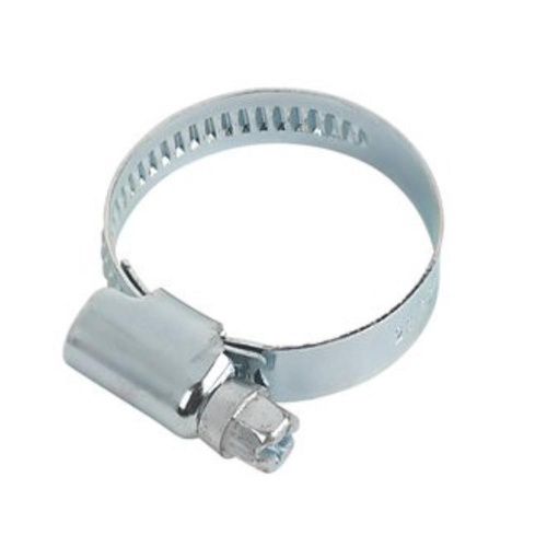 HOSE CLAMP 20-32MM WORMDRIVE ALL ZINC FINISH - EA