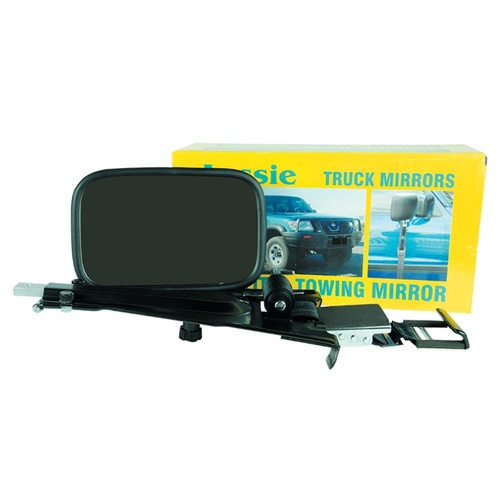 AUSSIE DOOR MOUNT TRUCK MIRROR EXTENDS 330MM TO 470MM. CM2070