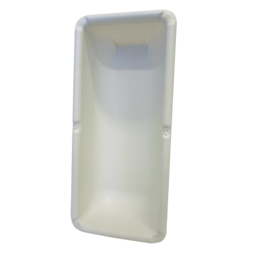 FIRE EXTINGUISHER HOLDER WHITE 3MM ABS PLASTIC
