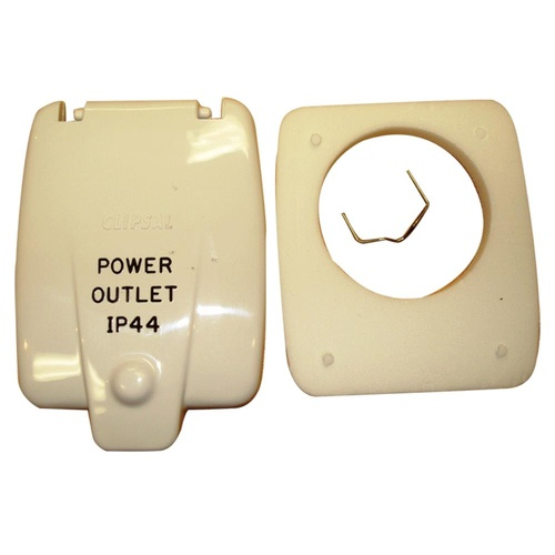 CLIPSAL FLAP T/S OLD STYLE OUTLET 10DWP. 10DWPFLAP - EA