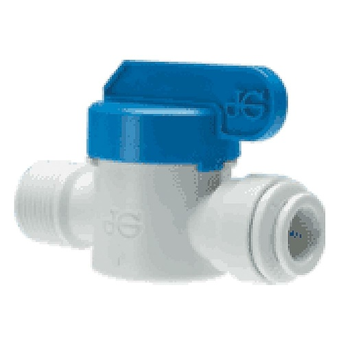 JG 12MM SHUT-OFF VALVE PLASTIC. PPMSV041212W - EA