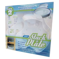 CAMCO STACK-A-PLATE WHITE. 43601 - EA