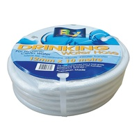 12MM x 10MT ROLL WHITE NON TOXIC REINFORCED WATER HOSE
